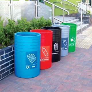An image of COT/3 Open Top Litter Bin