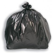 An image of Black Refuse Sack 18x29x39 20Kg 200g