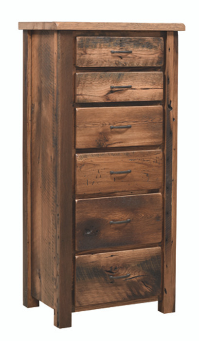 909 Reclaimed Post Mission Lingerie Chest By Frog Pond Furniture