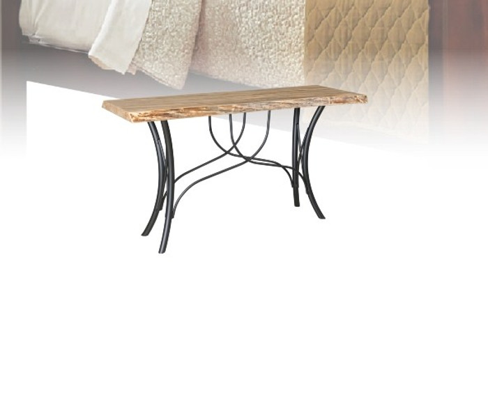 """HST54 Hilton Live Edge Tables Collection 54"""" Sofa Table By Frog Pond Furniture"""
