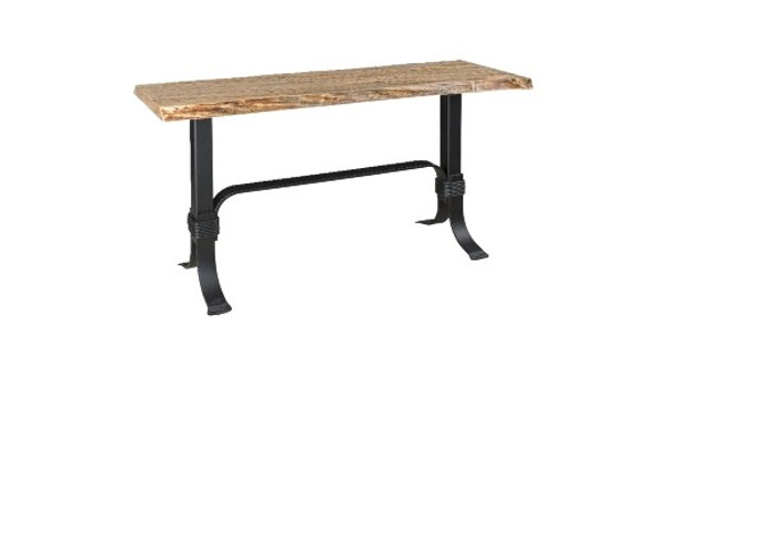 """SST54 Seminole Live Edge Tables Collection 54"""" Sofa Table By Frog Pond Furniture"""