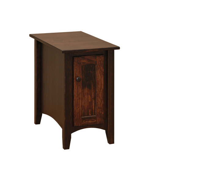 T108 Chair Side (A) With Door By Forest Ridge Woodworking