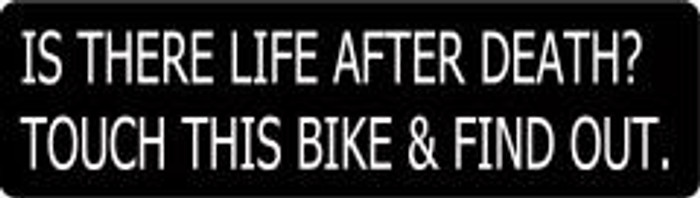 86 Is There Life After Death? Touch This Bike & Find Out. By Nuorder