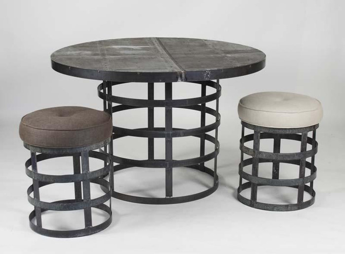 Round Stool - 1013 A008 By Zentique