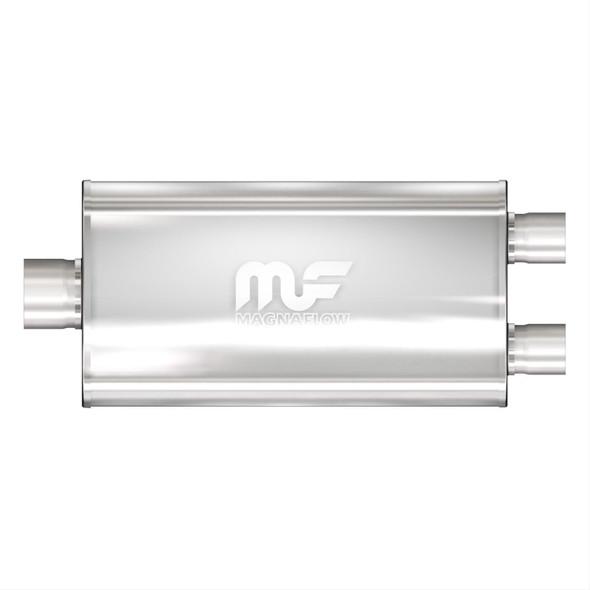 "Magnaflow demper 5""x11"" Single 3""/ Dual 2.5"" 22"" lang/Satin"