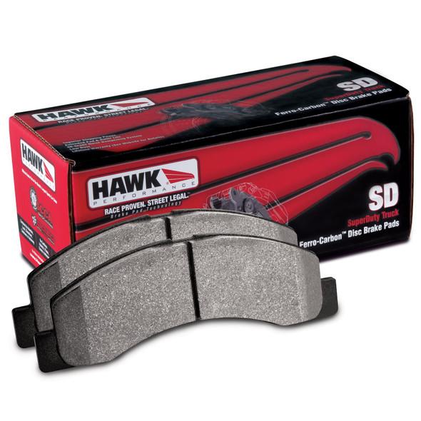 Dodge Ram HAWK SuperDuty set voor remblok met doos