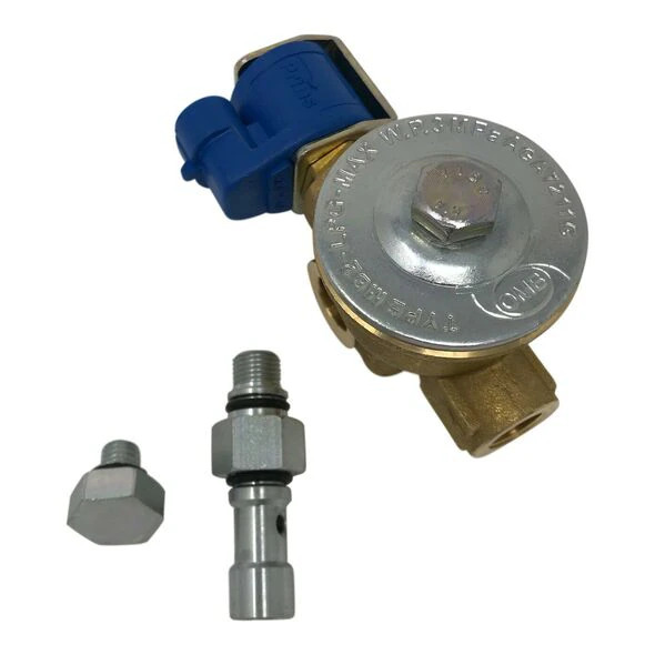 LPG Afsluiter/Magneet ventiel + filter Prins VSI verd. zijde