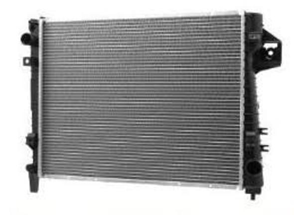 rad-09+w/neck - Radiateur Dodge Ram 1500 09+ (nieuw)