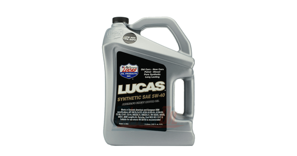 Lucas Synthetic Motor Oil SAE 5w40 5 Lite