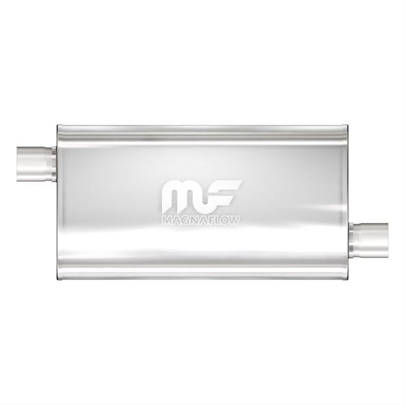 "MagnaFlow Muffler 22X5X11 Single 3"" offset/offset Mild Tone"