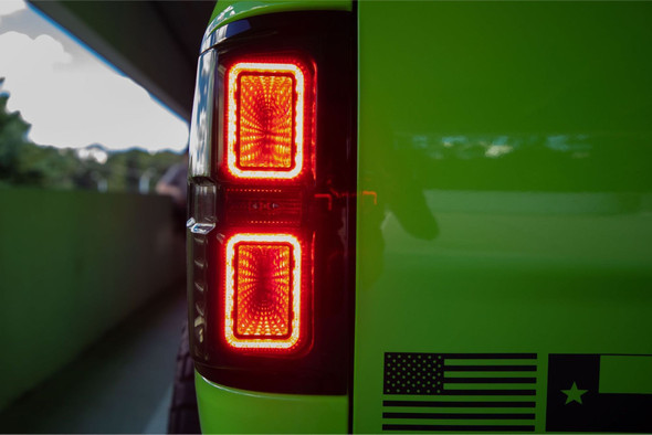 DODGE RAM Morimoto 09+ XB LED achterlichten RED set L+R