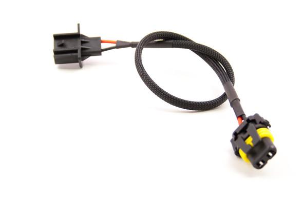 Adapter set H8/H9/H11 Male > 9006 2-pcs