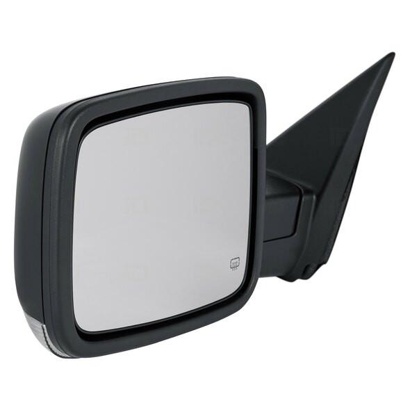 Spiegel L light+Heat+dim+folding Ram 13-18 black Metal PXR