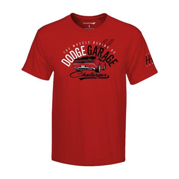 Heren T-Shirt Dodge Garage maat L