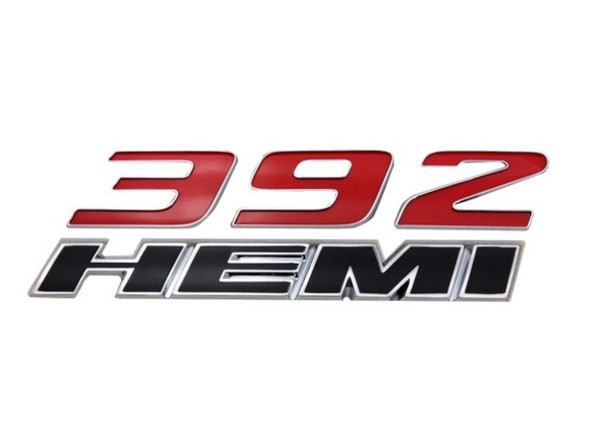 Logo voorscherm 392 Hemi Challenger 11+ Charger 12+