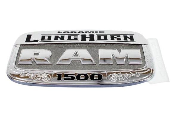 Logo voordeur RH ''Laramie Longhorn'' chroom