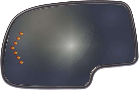 Spiegelglas links verwarmend met knipperlicht Avalanche 3/6