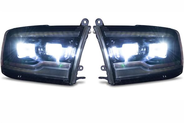 Dodge Ram Morimoto koplampen recht