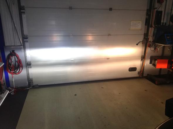 Led verlichting kit RAM 09+ met duo reflectie koplampen