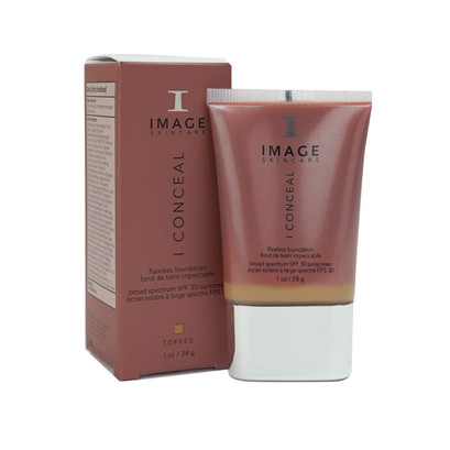 I CONCEAL Flawless Foundation Broad-Spectrum SPF 30 Sunscreen Toffee_IC-204N