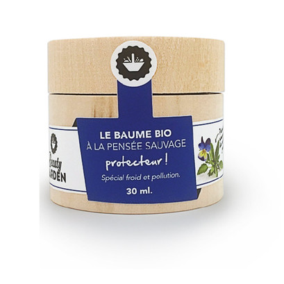 Special Cold Organic Balm with Wild Pansy_1021FB