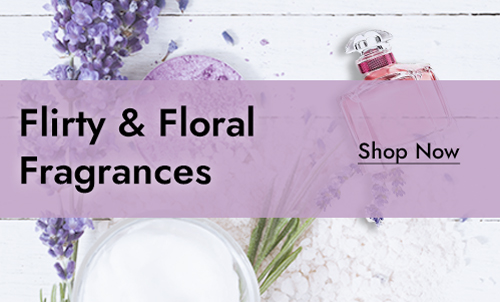 Flirty & Floral Fragrances by Saybine