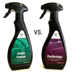 Cockpit Premium vs. Plastic Deep Cleaner