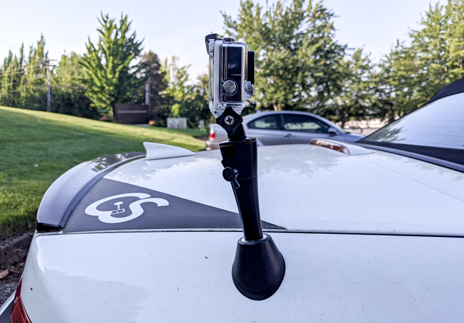 The CravenSpeed Antenna Camera Mount for 2018-2019 Ford Explorer