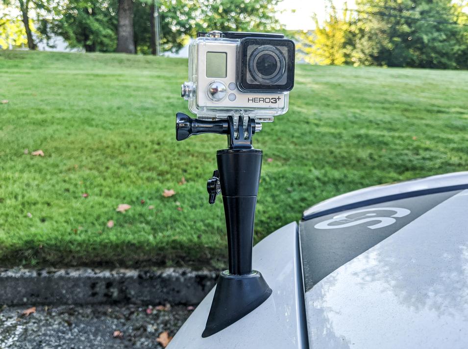 The CravenSpeed Antenna Camera Mount for 2010-2015 Honda Crosstour