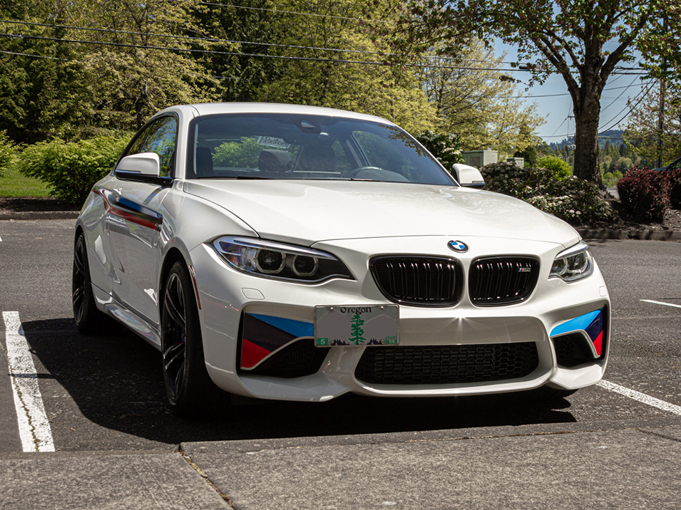 The Platypus License Plate Mount For 2016 2021 Bmw M2