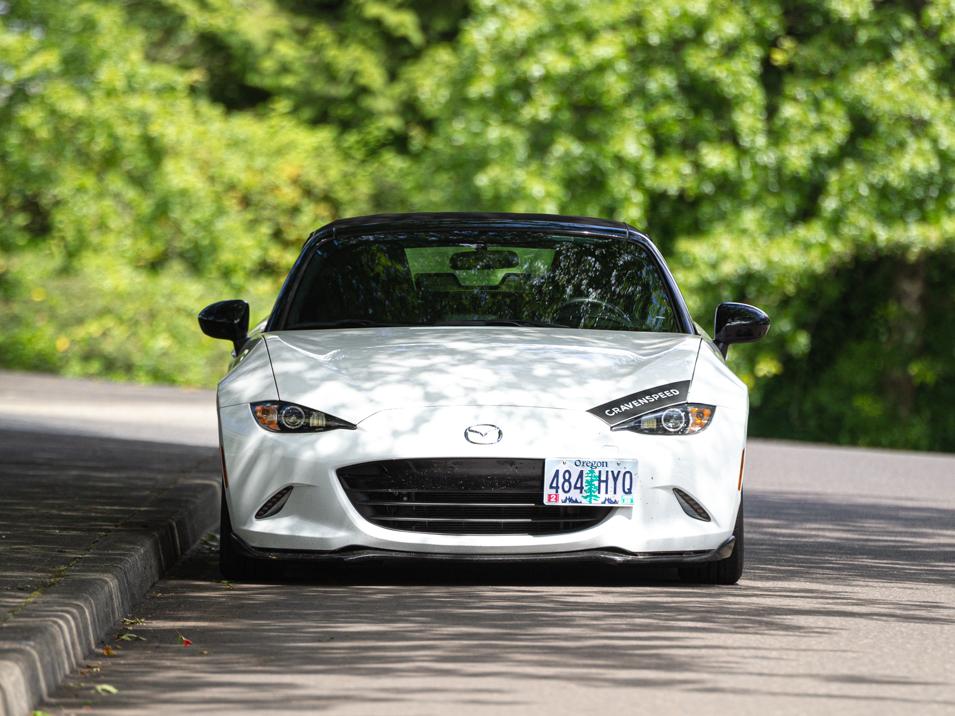 The Platypus License Plate Mount for 2016-2021 Mazda MX-5 Miata