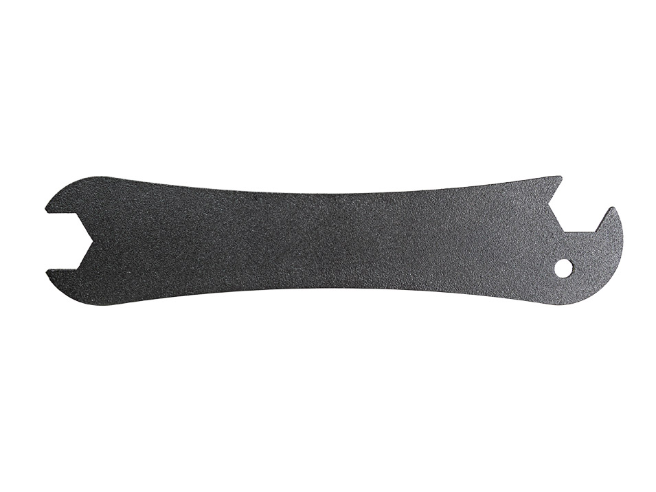 Quick release wrench of the CravenSpeed Platypus License Plate Mount for the ND Mazda Miata/MX-5.