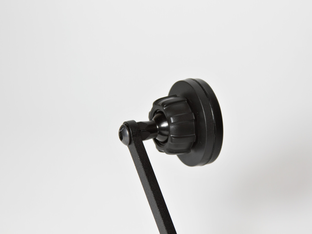 The magnetic phone holder on the CravenSpeed Gemini Phone Mount.