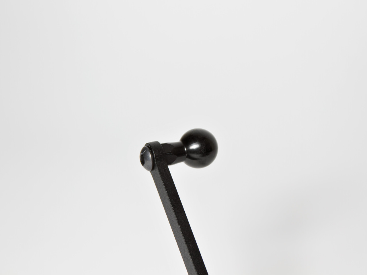 The ball socket on the CravenSpeed Gemini Phone Mount.