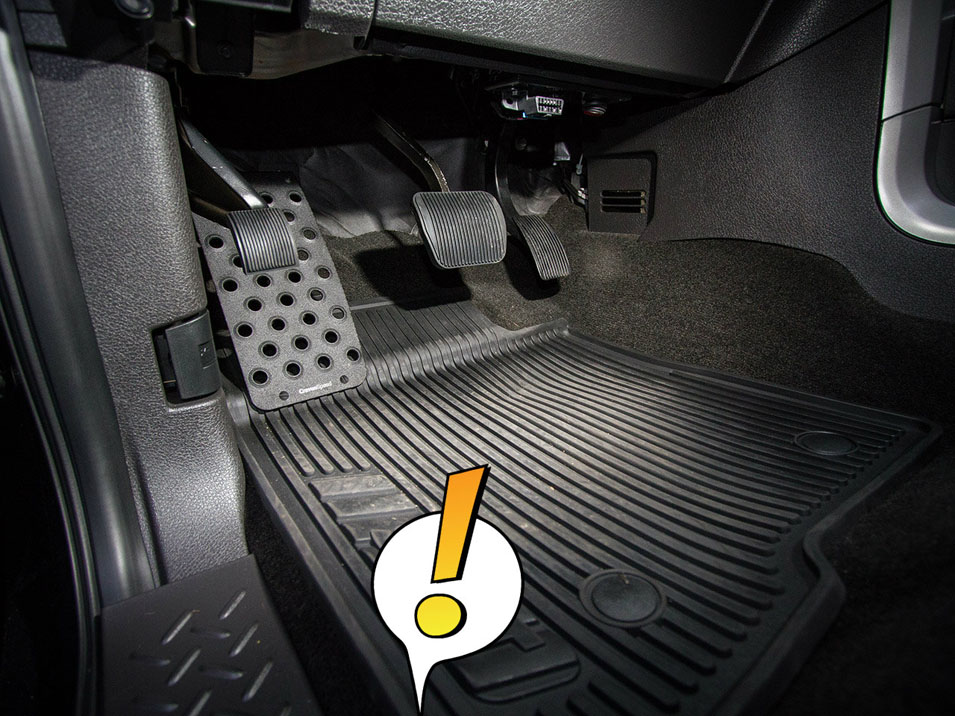 Dead Pedal for 2010-2014 Ford Raptor