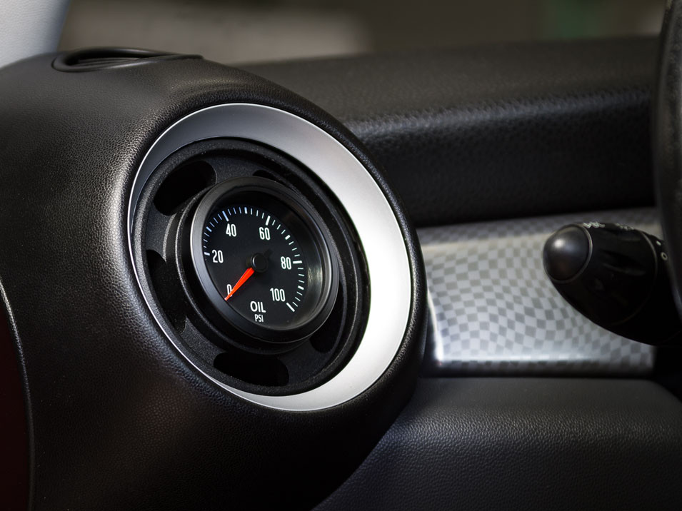 Vent Gauge Pod for MINI