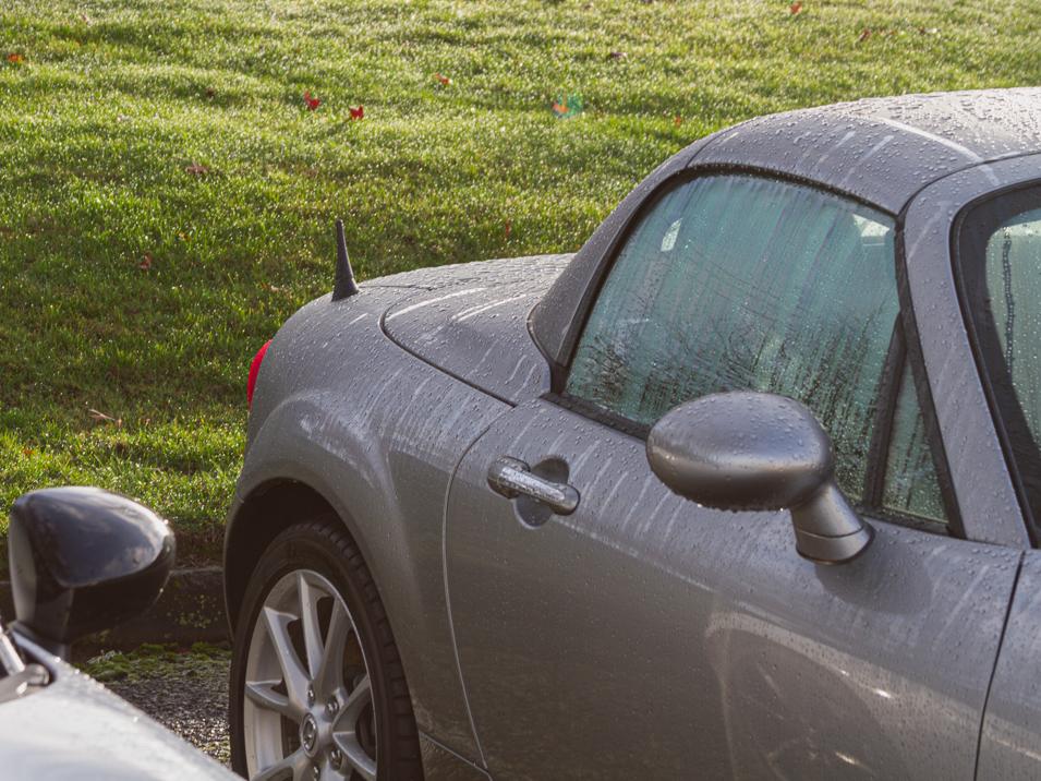 CS-AA313-346 The Original Stubby Antenna Replacement for 2006-2015 Mazda Miata Installed