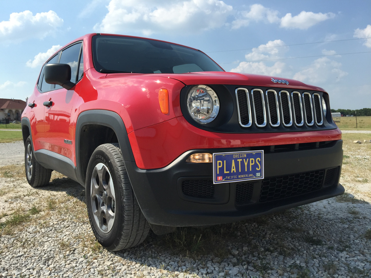 Jeep Renegade Front License Plate Mount