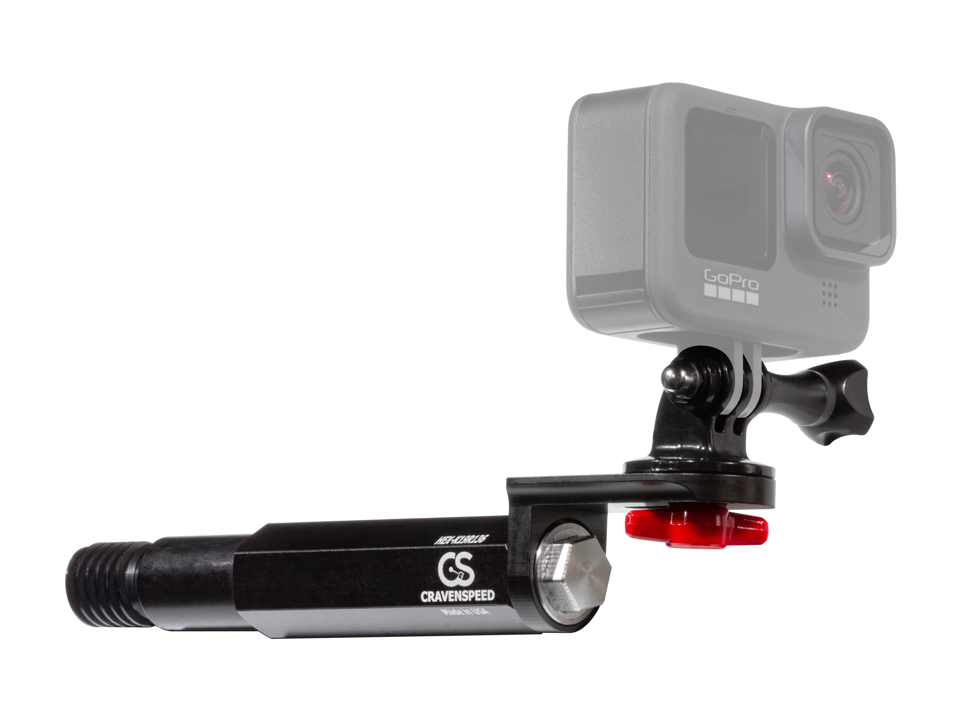 The CravenSpeed Tow Hook Action Cam Mount for the 2011-2014 Infiniti M37.