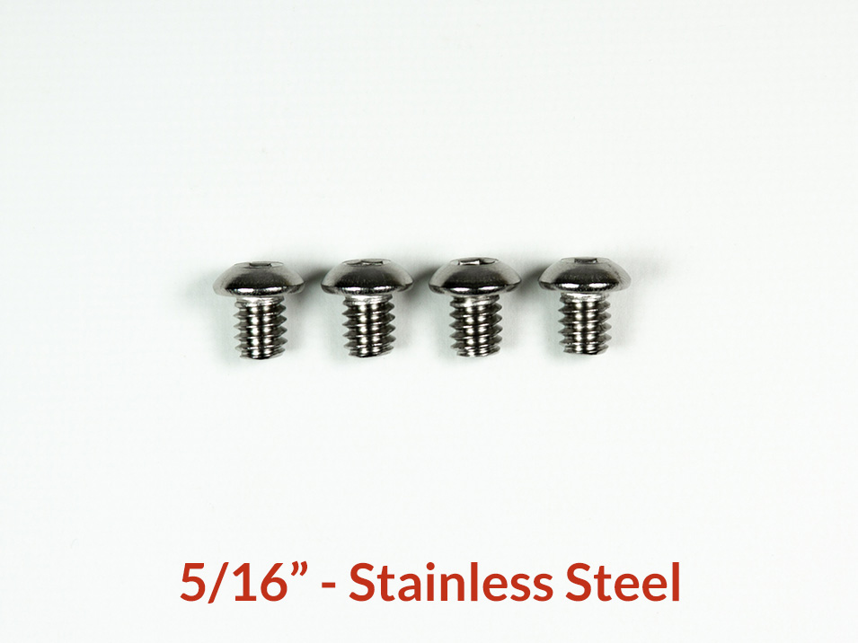 5/16 inch stainless button head