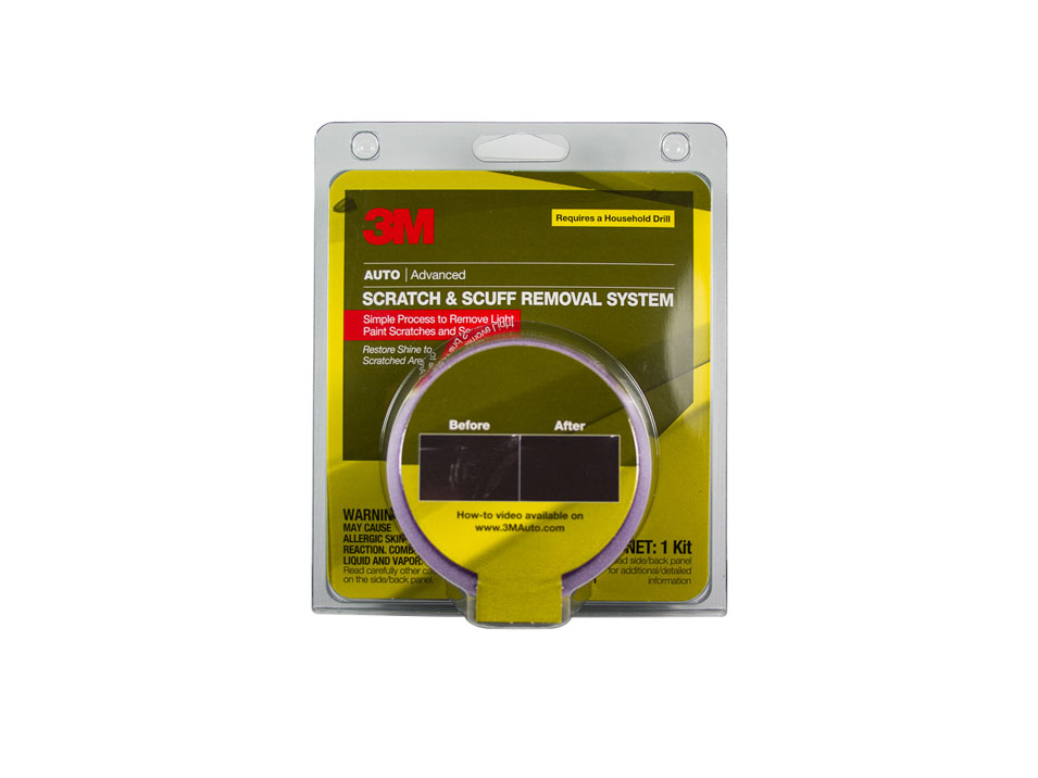 Scratch and Scuff Removal System