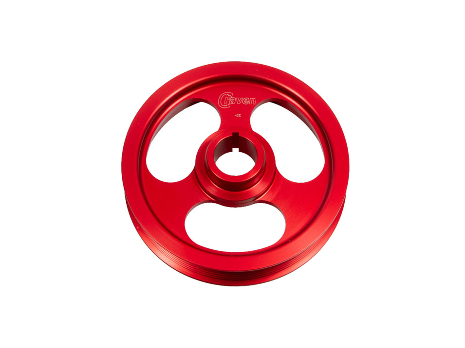 Lightweight Crank Pulley for Gen 1 Scion TC