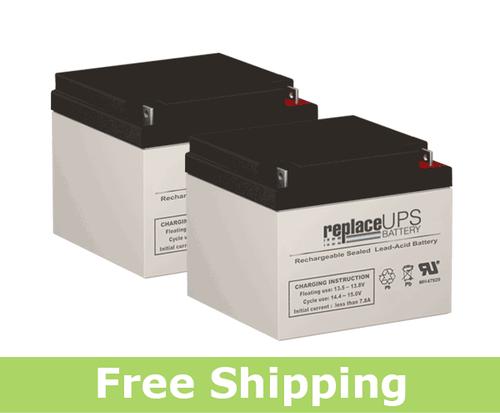 Elgar IPS560 - UPS Battery Set