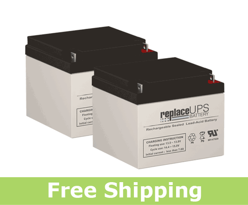 Deltec PR1200 - UPS Battery Set