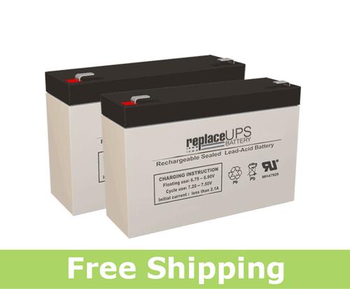 PowerWare PW5115-500RM - UPS Battery Set
