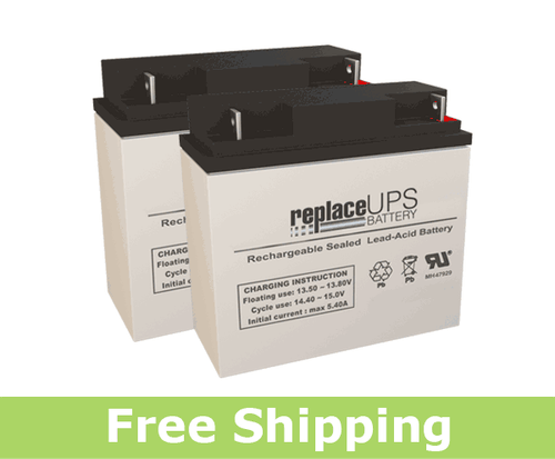 Alpha Technologies CC (017-100-XX) - UPS Battery Set