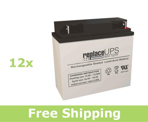 Alpha Technologies CFR 10K (017-083-XX) - UPS Battery Set