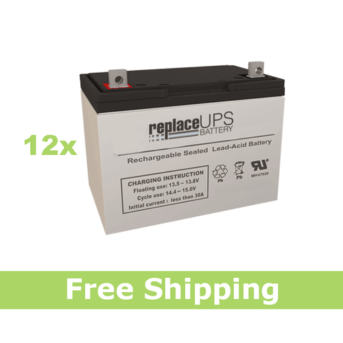 Alpha Technologies EBP 1275-48R (031-041-XX) - UPS Battery Set