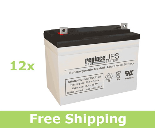 Alpha Technologies EBP 144A (032-035-XX) - UPS Battery Set