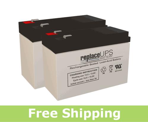 HCF Pacelite HCF 735 - Scooter Battery Set